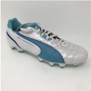 low cost f63db 86d23 Puma Shoes - Puma 2009 Soccer Cleats Sprint FG Metallic Blue